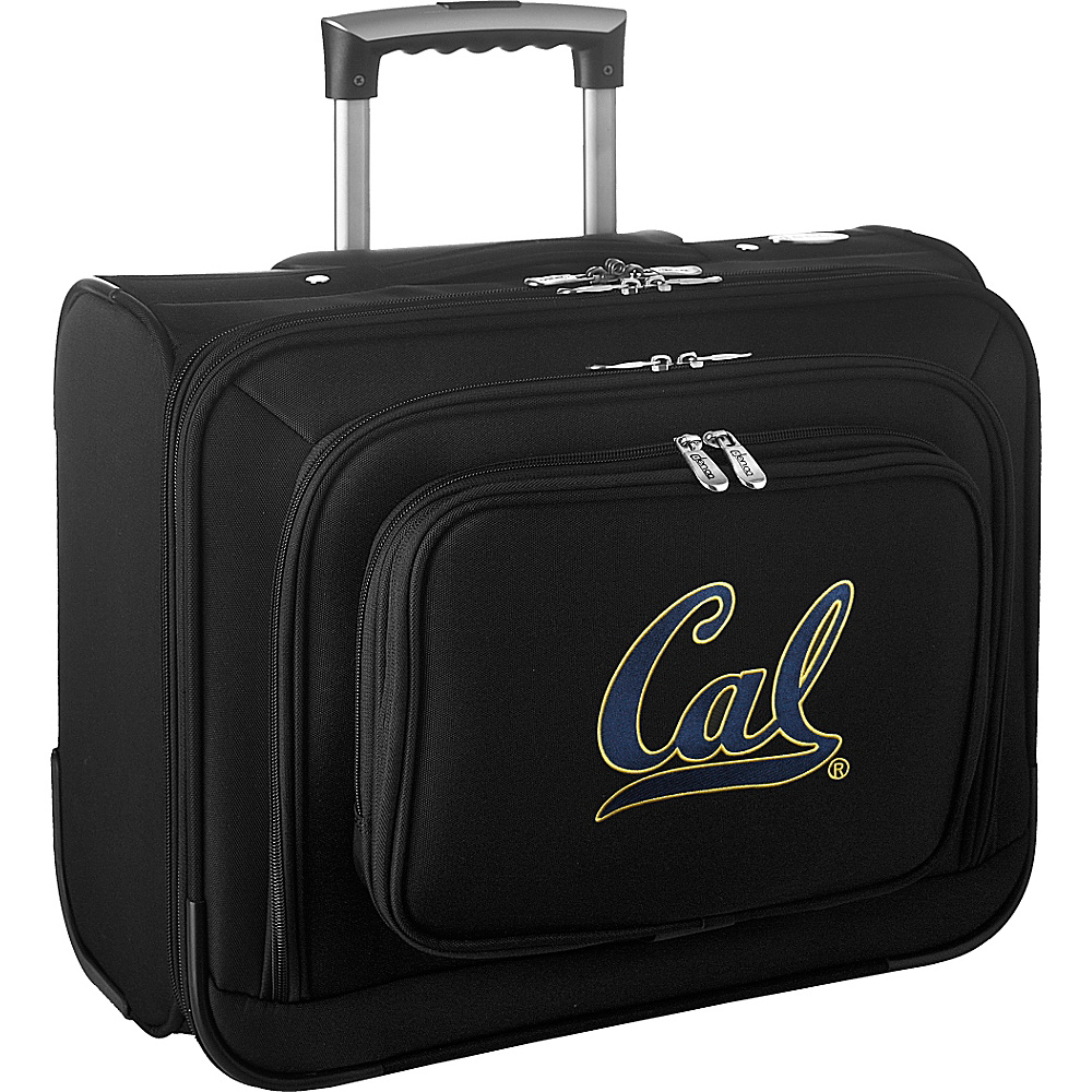 Denco Sports Luggage NCAA 14 Laptop Overnighter University of California, Berkeley Golden Bears - Denco Sports Luggage Wheeled Business Cases - Work Bags & Briefcases, Wheeled Business Cases