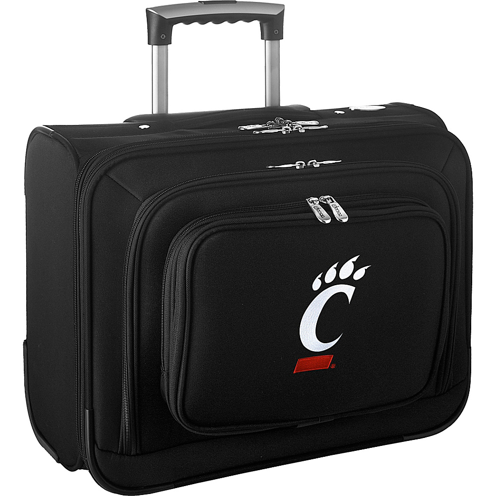 Denco Sports Luggage NCAA 14 Laptop Overnighter University of Cincinnati Bearcats - Denco Sports Luggage Wheeled Business Cases - Work Bags & Briefcases, Wheeled Business Cases