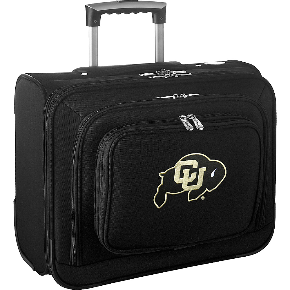 Denco Sports Luggage NCAA 14 Laptop Overnighter University of Colorado Boulder Buffaloes - Denco Sports Luggage Wheeled Business Cases - Work Bags & Briefcases, Wheeled Business Cases