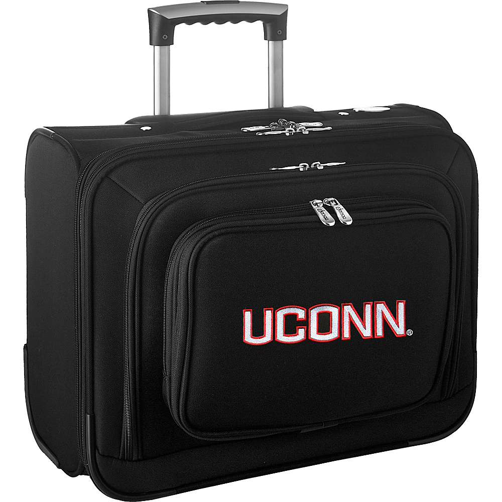 Denco Sports Luggage NCAA 14 Laptop Overnighter University of Connecticut Huskies - Denco Sports Luggage Wheeled Business Cases - Work Bags & Briefcases, Wheeled Business Cases