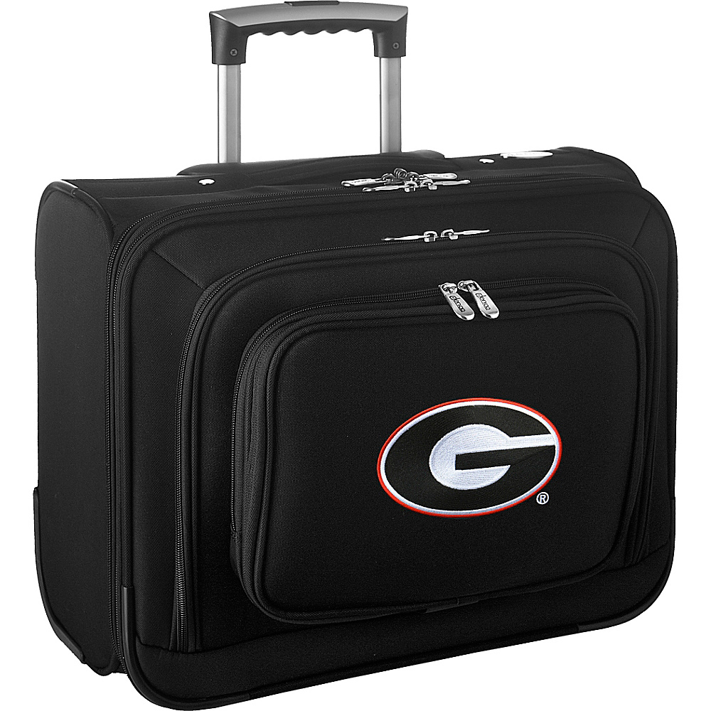 Denco Sports Luggage NCAA 14 Laptop Overnighter University of Georgia Bulldogs - Denco Sports Luggage Wheeled Business Cases - Work Bags & Briefcases, Wheeled Business Cases