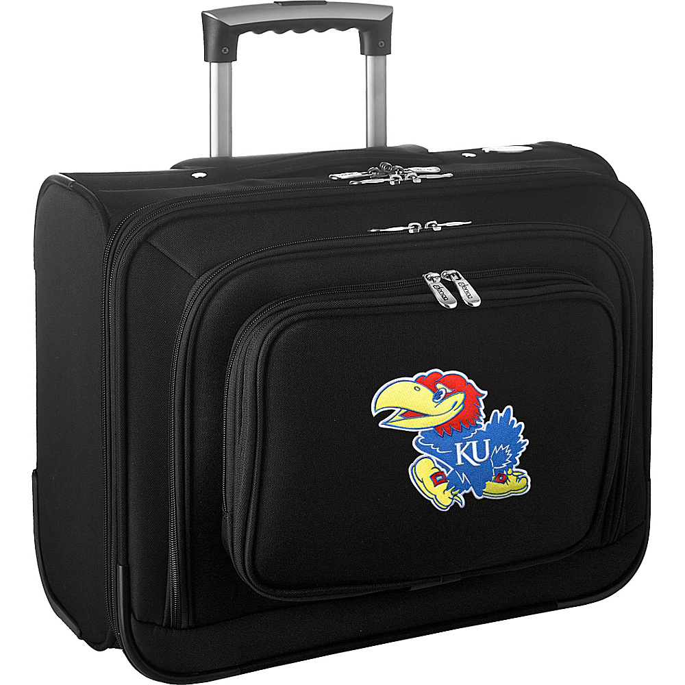 Denco Sports Luggage NCAA 14 Laptop Overnighter University of Kansas Jayhawks - Denco Sports Luggage Wheeled Business Cases - Work Bags & Briefcases, Wheeled Business Cases