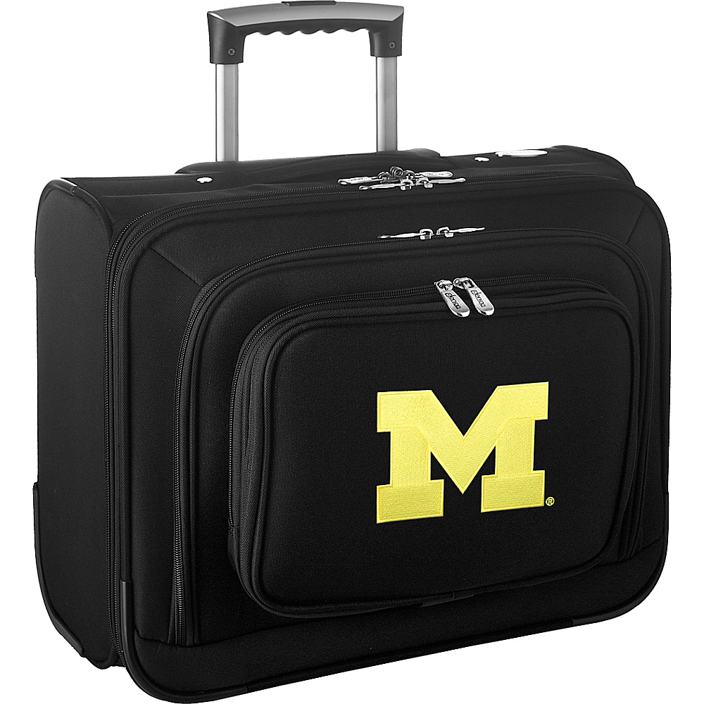 Denco Sports Luggage NCAA 14 Laptop Overnighter University of Michigan Wolverines - Denco Sports Luggage Wheeled Business Cases - Work Bags & Briefcases, Wheeled Business Cases