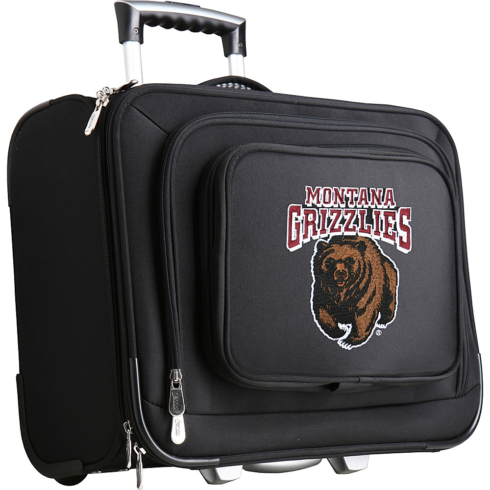 Denco Sports Luggage NCAA 14 Laptop Overnighter University of Montana Grizzlies - Denco Sports Luggage Wheeled Business Cases - Work Bags & Briefcases, Wheeled Business Cases