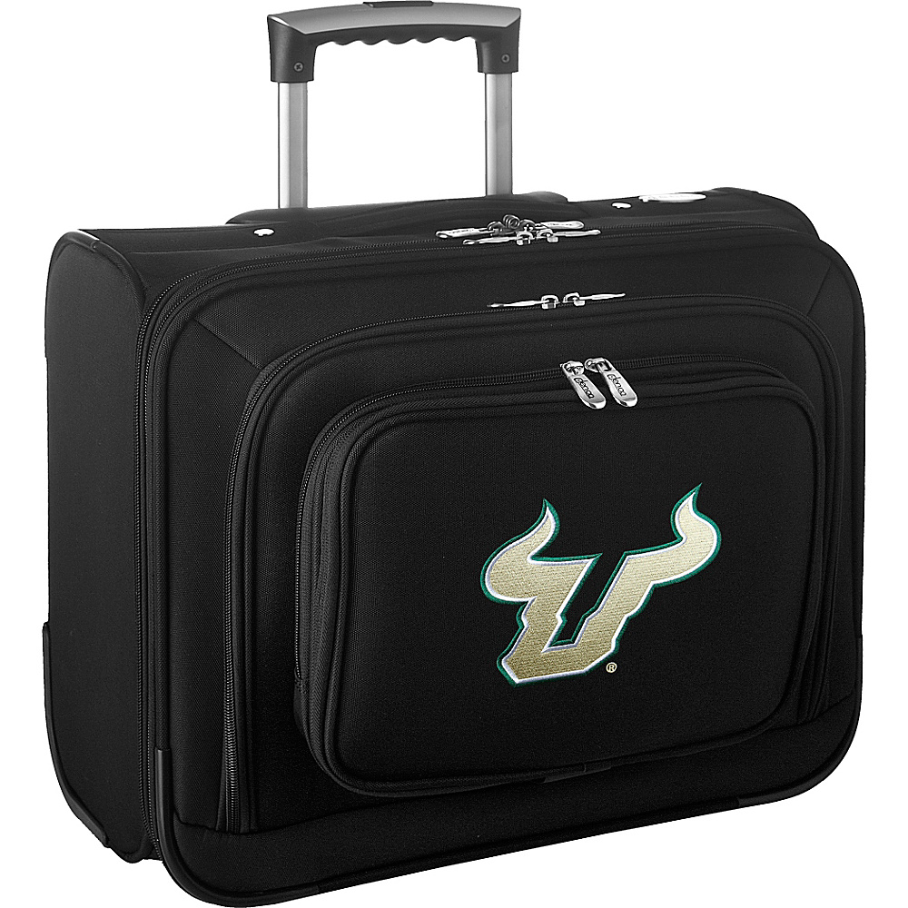 Denco Sports Luggage NCAA 14 Laptop Overnighter University of South Florida Bulls - Denco Sports Luggage Wheeled Business Cases - Work Bags & Briefcases, Wheeled Business Cases