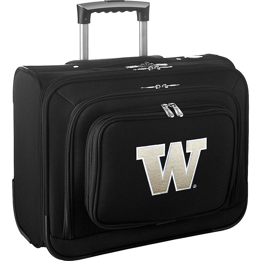 Denco Sports Luggage NCAA 14 Laptop Overnighter University of Washington Huskies - Denco Sports Luggage Wheeled Business Cases - Work Bags & Briefcases, Wheeled Business Cases