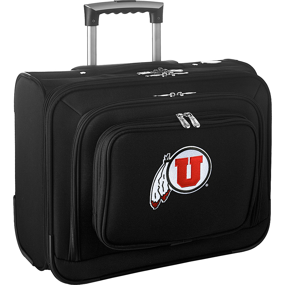 Denco Sports Luggage NCAA 14 Laptop Overnighter University of Utah Utes - Denco Sports Luggage Wheeled Business Cases - Work Bags & Briefcases, Wheeled Business Cases