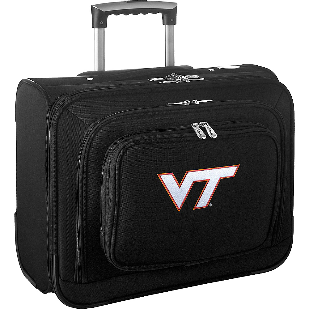 Denco Sports Luggage NCAA 14 Laptop Overnighter Virginia Tech Hokies - Denco Sports Luggage Wheeled Business Cases - Work Bags & Briefcases, Wheeled Business Cases