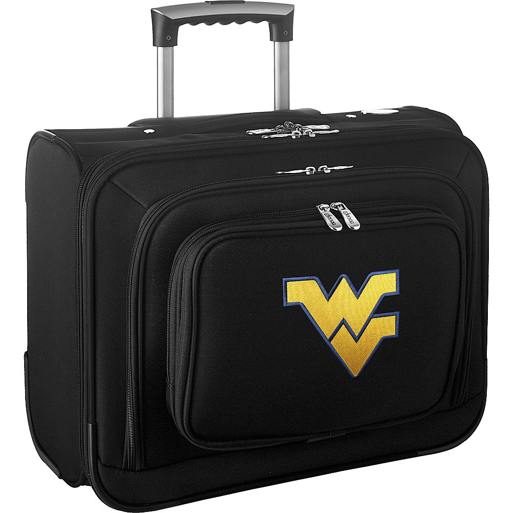 Denco Sports Luggage NCAA 14 Laptop Overnighter West Virginia University Mountaineers - Denco Sports Luggage Wheeled Business Cases - Work Bags & Briefcases, Wheeled Business Cases
