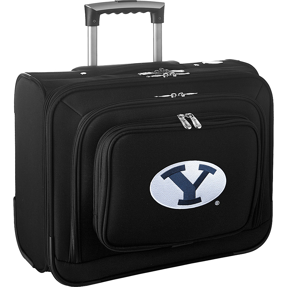 Denco Sports Luggage NCAA 14 Laptop Overnighter Brigham Young University Cougars - Denco Sports Luggage Wheeled Business Cases - Work Bags & Briefcases, Wheeled Business Cases