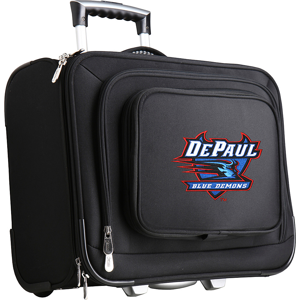 Denco Sports Luggage NCAA 14 Laptop Overnighter DePaul University Blue Demons - Denco Sports Luggage Wheeled Business Cases - Work Bags & Briefcases, Wheeled Business Cases