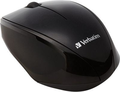 Verbatim Wireless Multi-Trac Blue LED Optical Mouse Black - Verbatim Business Accessories