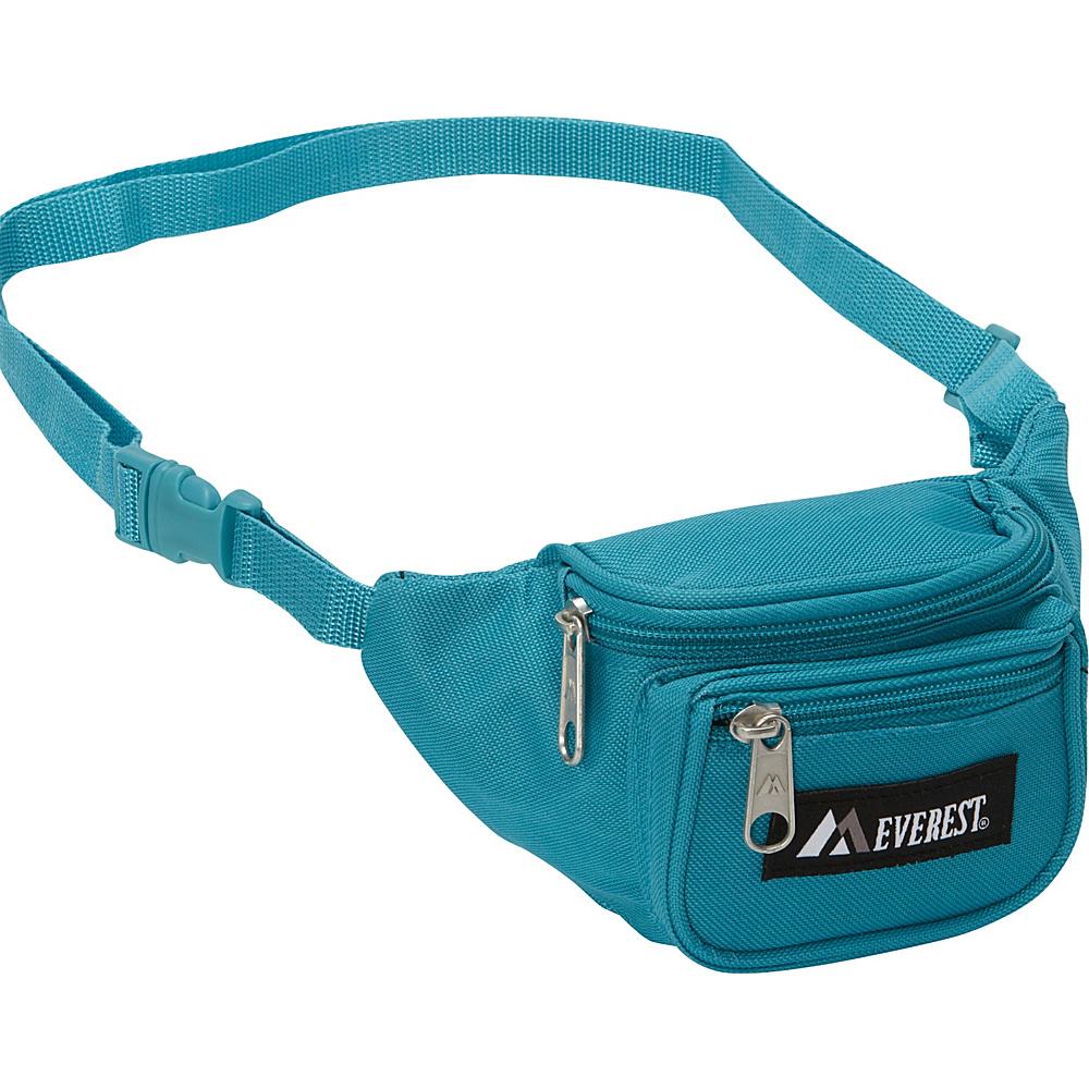 Everest Signature Waist Pack - Junior Turquoise - Everest Waist Packs - Backpacks, Waist Packs