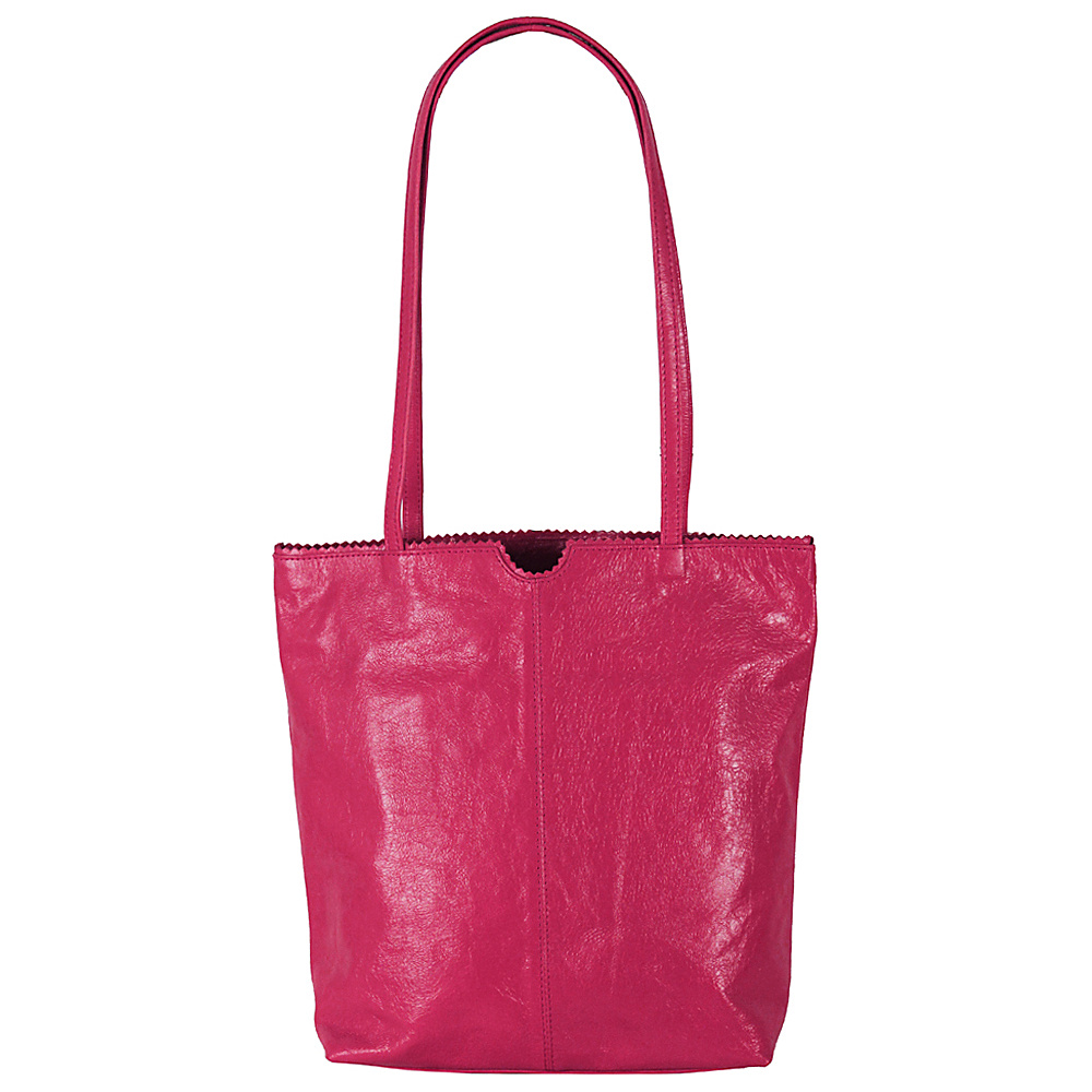 Latico Leathers Theresa Tote Fuchsia - Latico Leathers Leather Handbags - Handbags, Leather Handbags