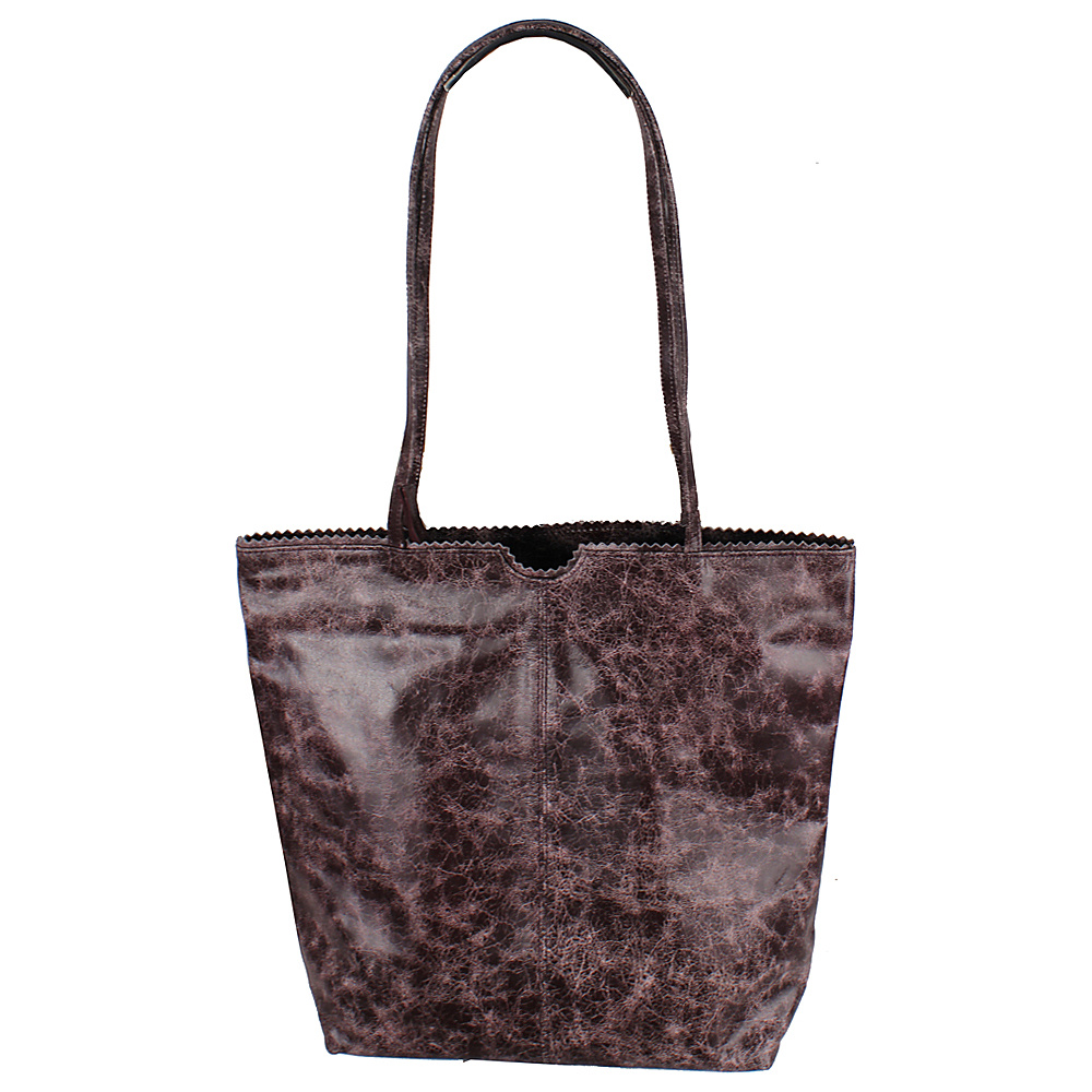 Latico Leathers Theresa Tote Astro Purple - Latico Leathers Leather Handbags - Handbags, Leather Handbags