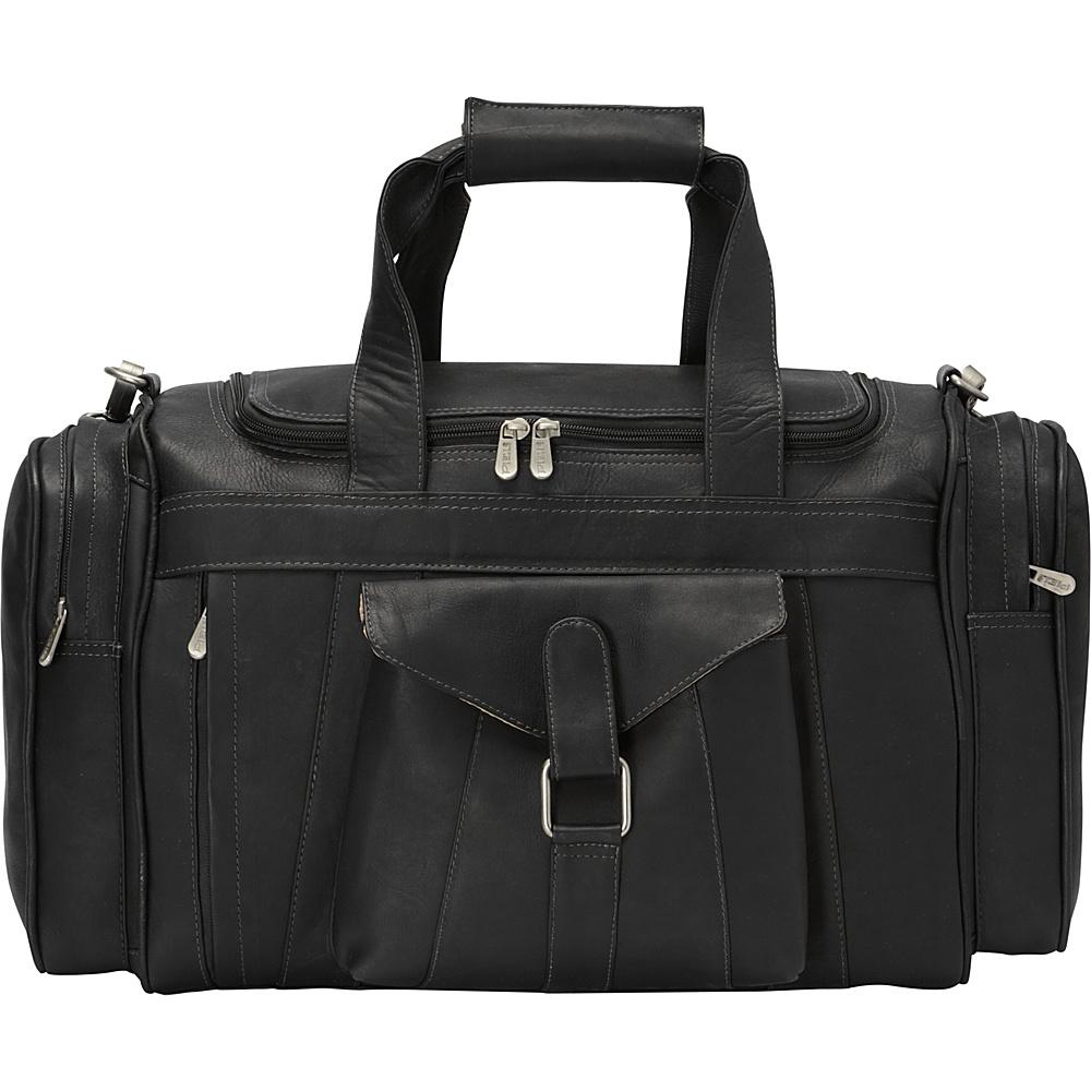 Piel Loop Large Pocket Duffel Black - Piel Rolling Duffels - Luggage, Rolling Duffels