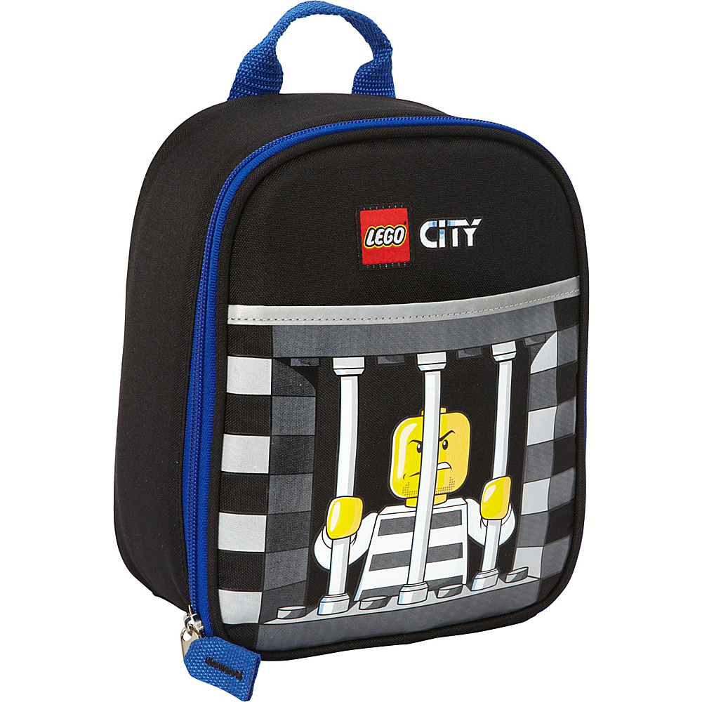 LEGO Vertical Lunch City Police Crook Black LEGO Travel Coolers