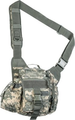 Red Rock Outdoor Gear Hipster Sling Bag ACU Camouflage - Red Rock Outdoor Gear Tactical