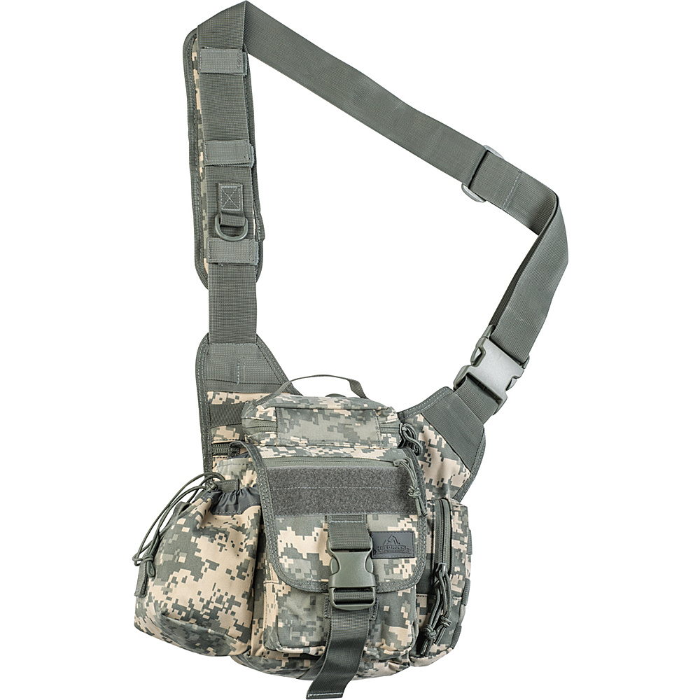 Red Rock Outdoor Gear Hipster Sling Bag ACU Camouflage Red Rock Outdoor Gear Tactical
