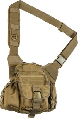 Red Rock Outdoor Gear Hipster Sling Bag Coyote Tan - Red Rock Outdoor Gear Tactical