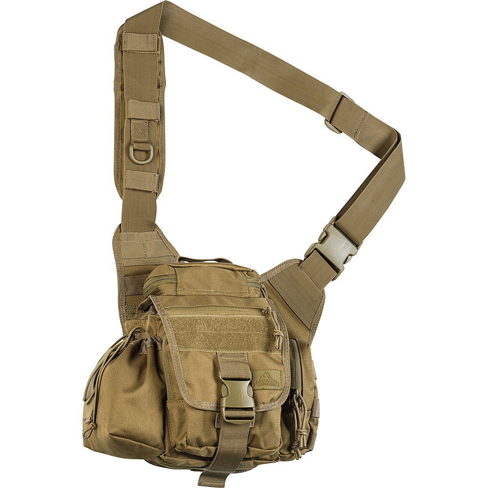 Red Rock Outdoor Gear Hipster Sling Bag Coyote Tan Red Rock Outdoor Gear Tactical