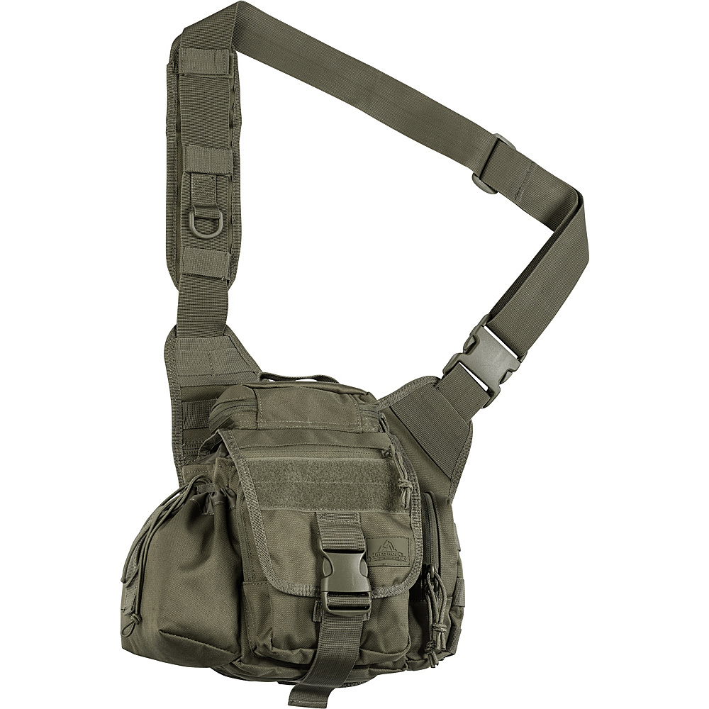 Red Rock Outdoor Gear Hipster Sling Bag Olive Drab Red Rock Outdoor Gear Tactical