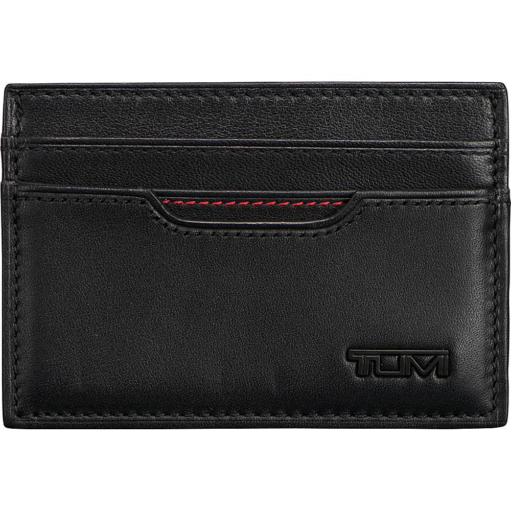 Tumi Delta Slim Card Case ID Black - Tumi Men's Wallets