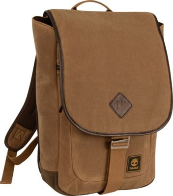 Timberland Mt. Madison Backpack Messenger Tan/Brown - Timberland Business & Laptop Backpacks