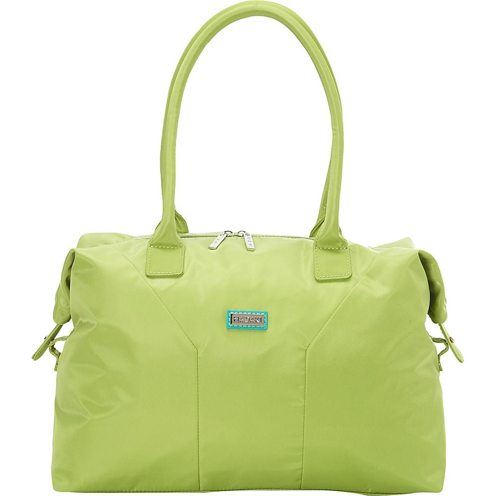 Hadaki Satchel Piquat Green - Hadaki Fabric Handbags - Handbags, Fabric Handbags