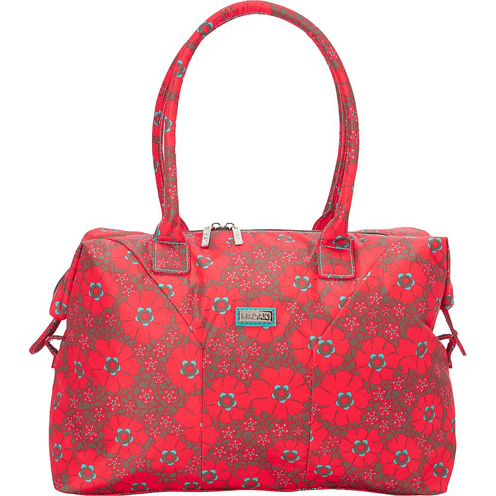 Hadaki Satchel Primavera Lacey - Hadaki Fabric Handbags - Handbags, Fabric Handbags