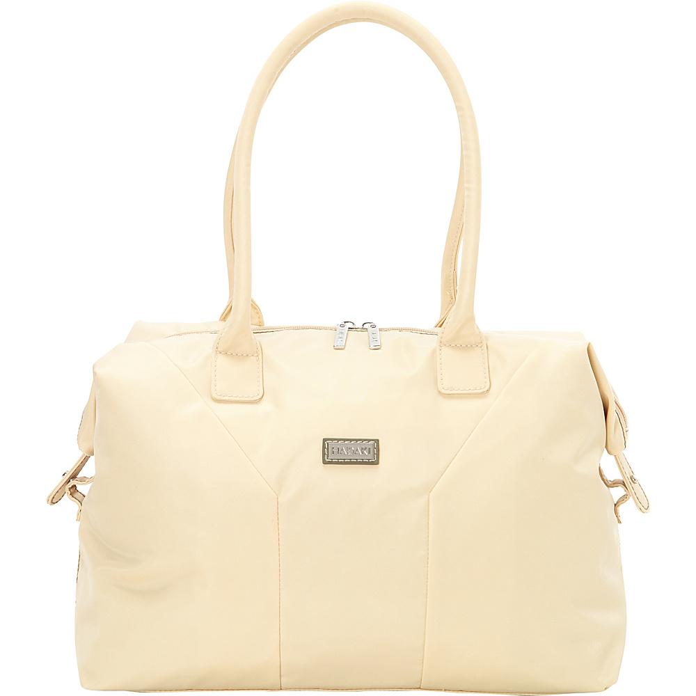 Hadaki Satchel Semolina - Hadaki Fabric Handbags - Handbags, Fabric Handbags