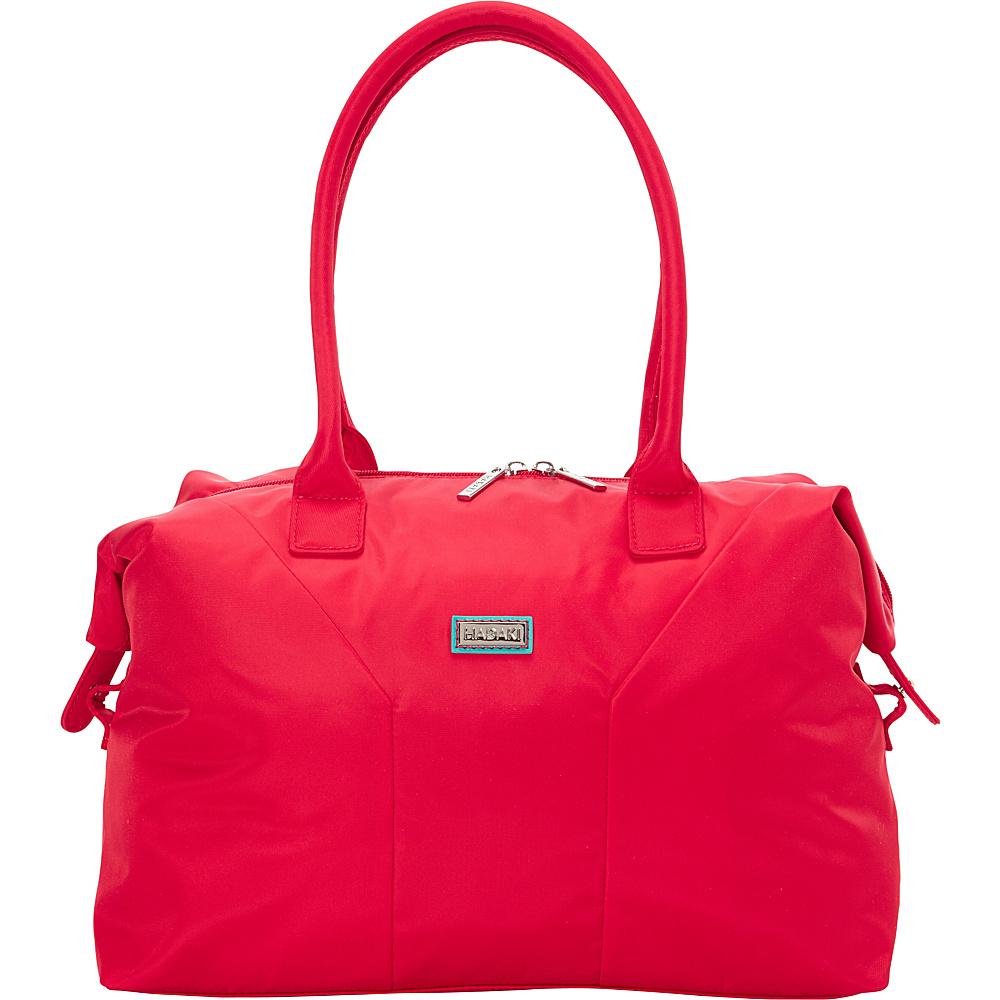 Hadaki Satchel Tango Red - Hadaki Fabric Handbags - Handbags, Fabric Handbags