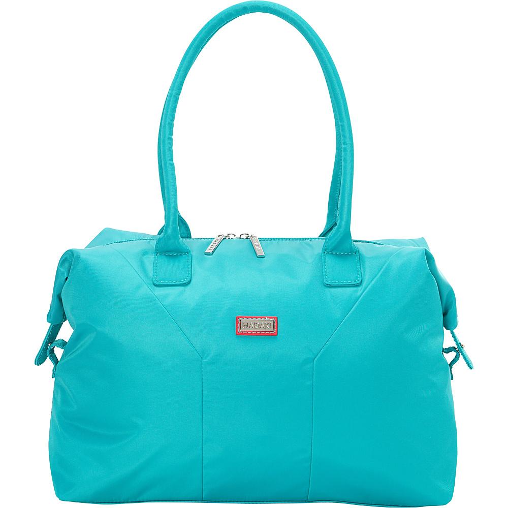 Hadaki Satchel Viridian Green - Hadaki Fabric Handbags - Handbags, Fabric Handbags