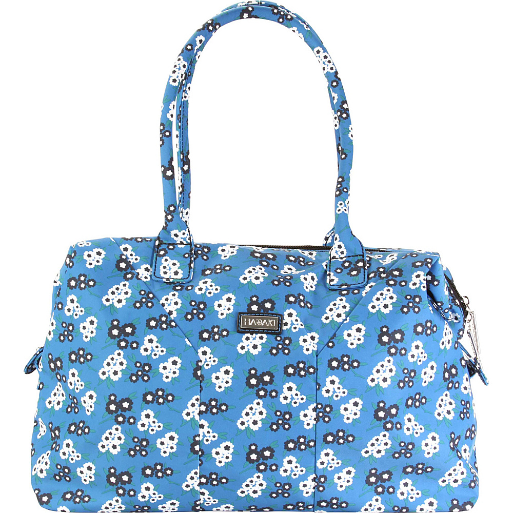 Hadaki Satchel Fantasia Floral - Hadaki Fabric Handbags - Handbags, Fabric Handbags