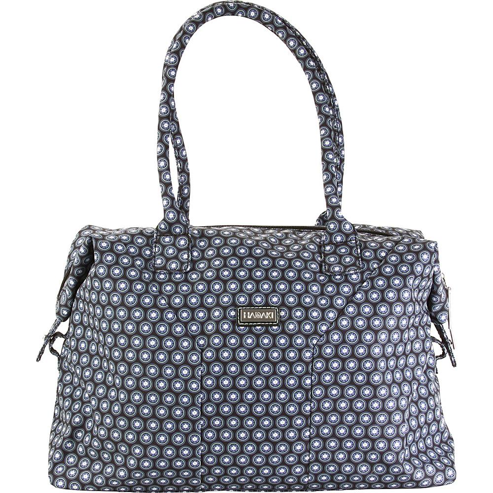 Hadaki Satchel Fantasia Geo - Hadaki Fabric Handbags - Handbags, Fabric Handbags