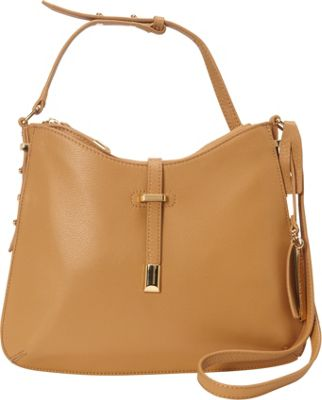 Vince Camuto Molly Crossbody Bag Oak - Vince Camuto Designer Handbags