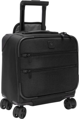 Victorinox Lexicon Dual-Caster Boarding Tote Black - Victorinox Luggage Totes and Satchels