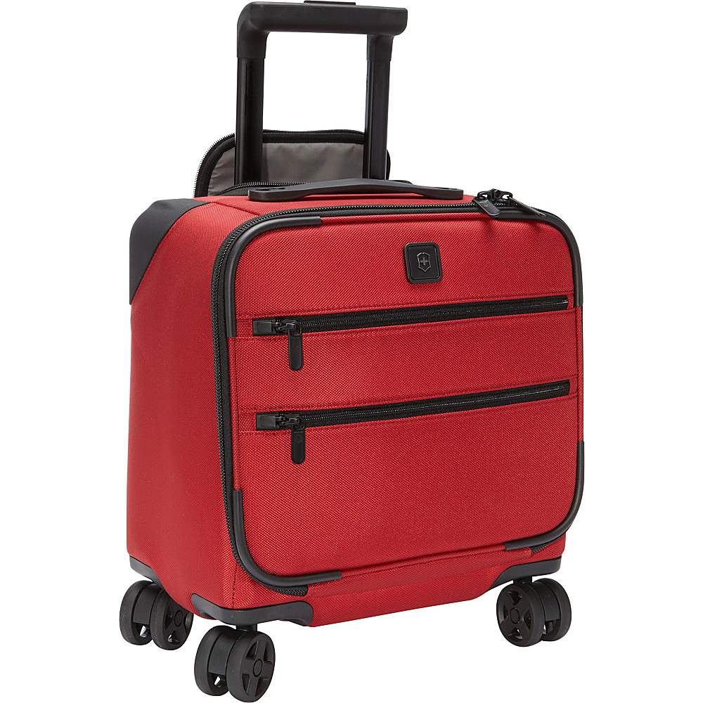 Victorinox Lexicon Dual-Caster Boarding Tote Red - Victorinox Luggage Totes and Satchels