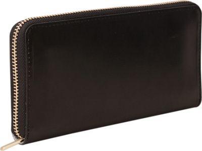 Paperthinks Long Wallet Black - Paperthinks Women's Wallets