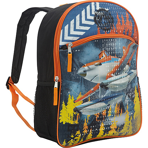 Disney Planes Light Up Backpack Black - Disney School & Day Hiking Backpacks