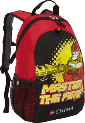 LEGO LEGO Chima Master of Fire Heritage Basic Backpack RED - LEGO Everyday Backpacks