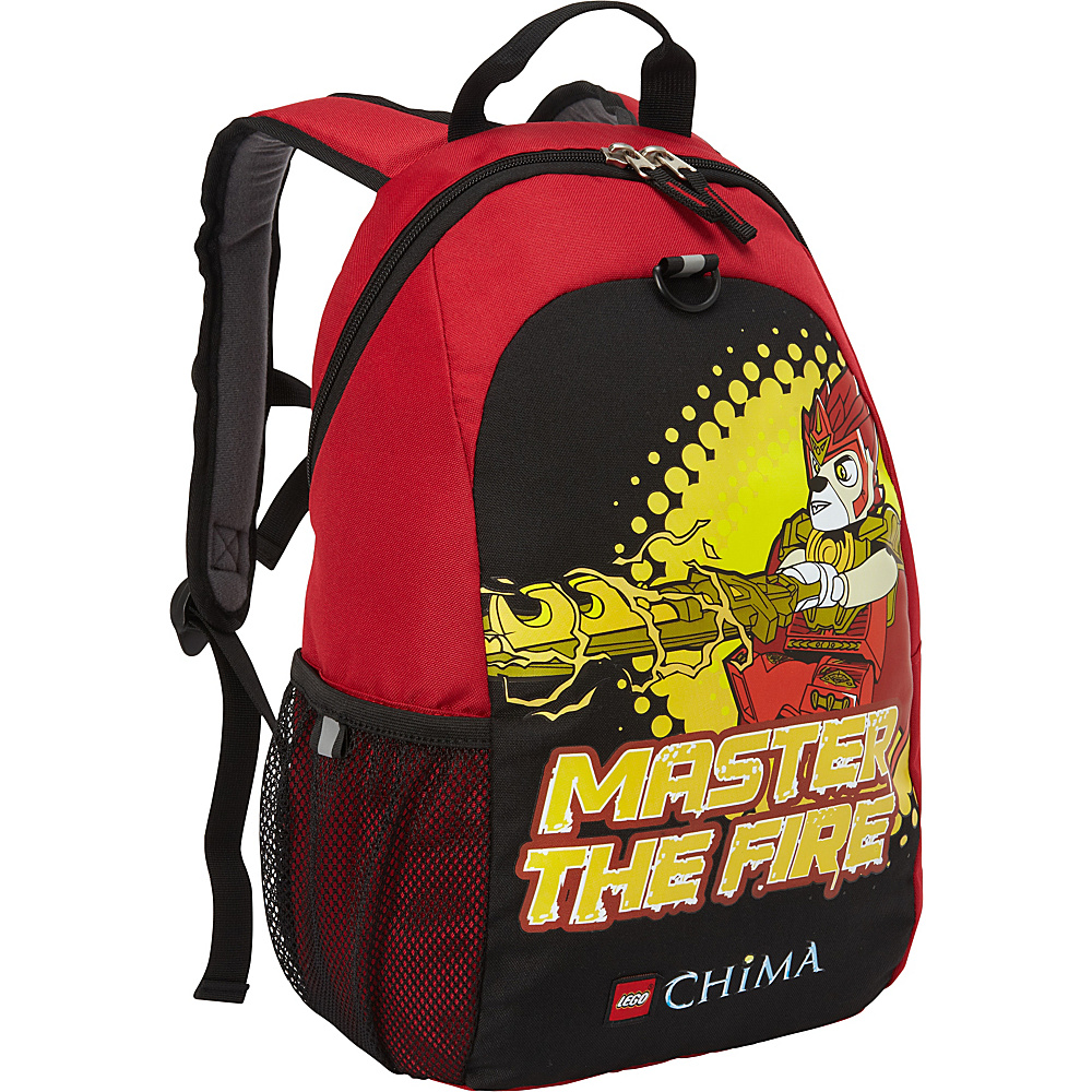 LEGO LEGO Chima Master of Fire Heritage Basic Backpack RED LEGO Everyday Backpacks
