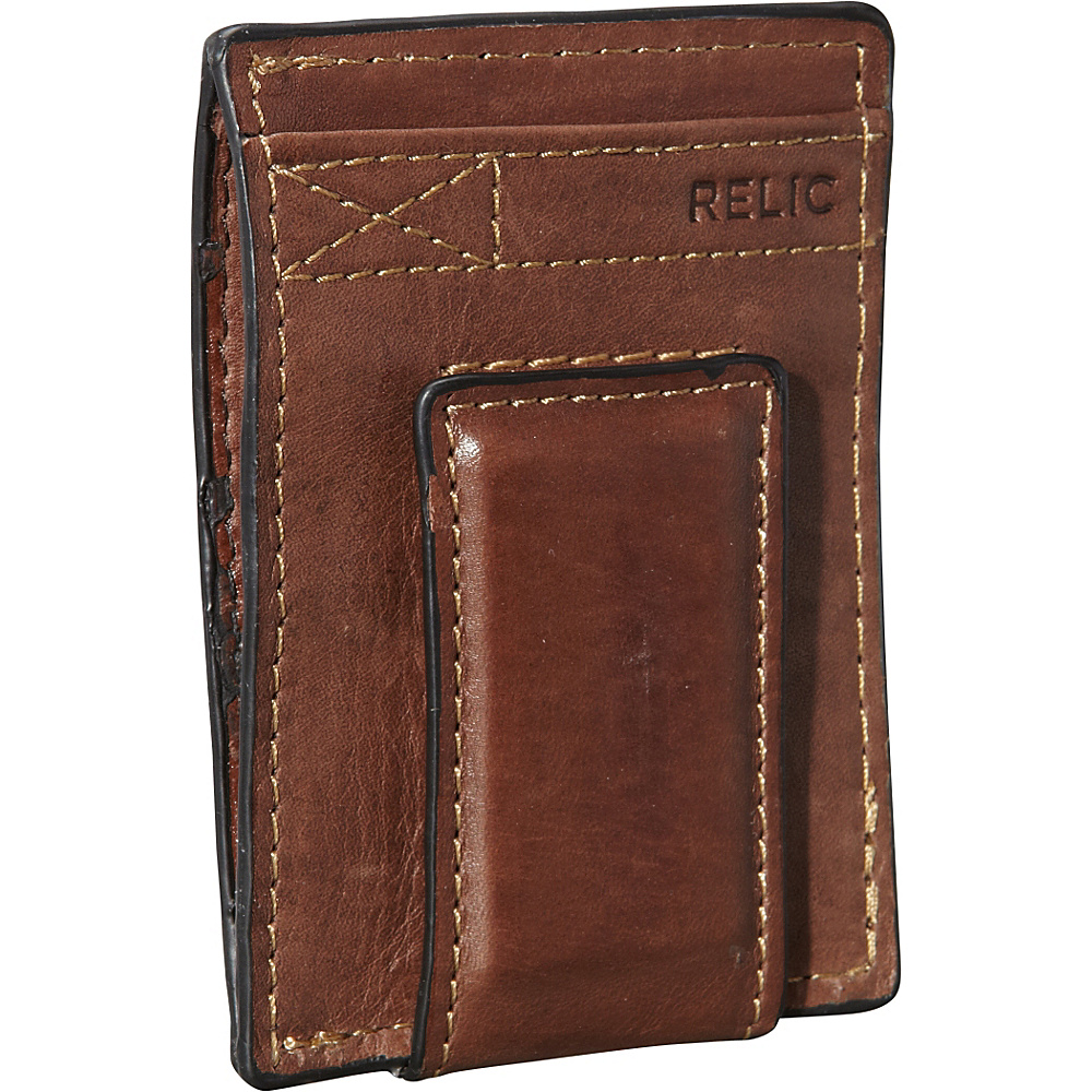 Relic Barea Multi Card Brown Relic Men s Wallets
