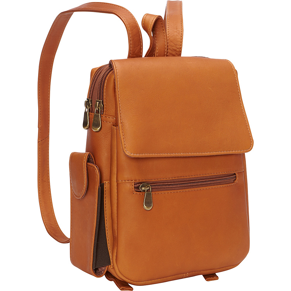Le Donne Leather Sapelli Backpack Tan - Le Donne Leather Leather Handbags