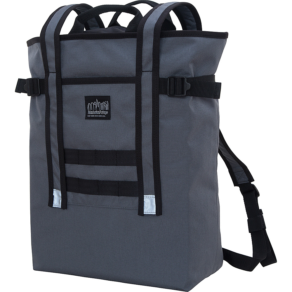 Manhattan Portage Chrystie Backpack Gray - Manhattan Portage Business & Laptop Backpacks - Backpacks, Business & Laptop Backpacks