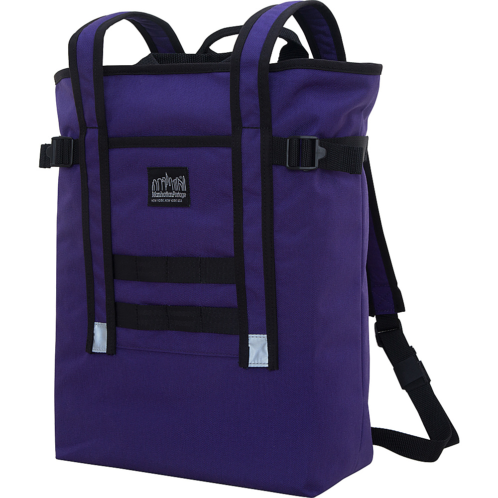 Manhattan Portage Chrystie Backpack Purple - Manhattan Portage Business & Laptop Backpacks - Backpacks, Business & Laptop Backpacks