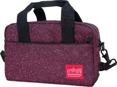 Manhattan Portage Midnight Parkside Shoulder Bag Burgundy - Manhattan Portage Other Men's Bags