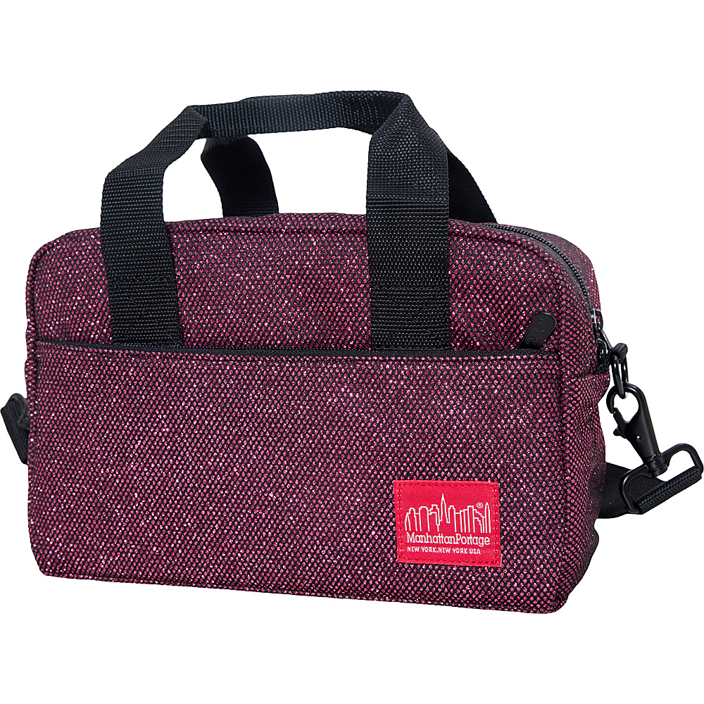 Manhattan Portage Midnight Parkside Shoulder Bag Burgundy Manhattan Portage Other Men s Bags