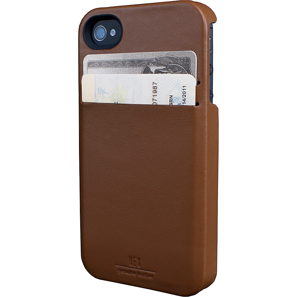 HEX iPhone 4 4s Solo Wallet British Tan HEX Electronic Cases