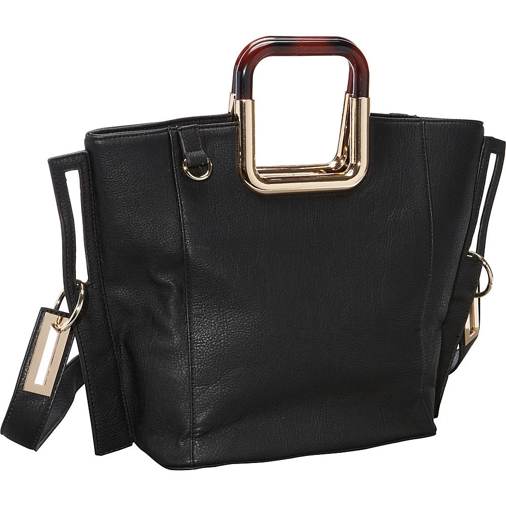 Ann Creek Square Eye Tote Black Ann Creek Manmade Handbags
